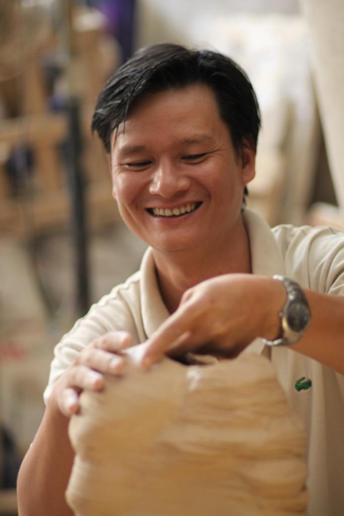 Họa sĩ Phan Thanh Sơn