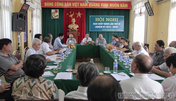 Hội nghị Ban chấp hành lần thứ VI ( nhiệm kì 2015-2020)