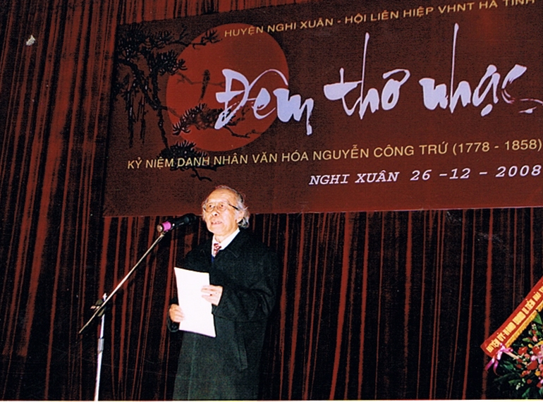 Nhà thơ Lê Duy Phương- Quan chức và thi ca