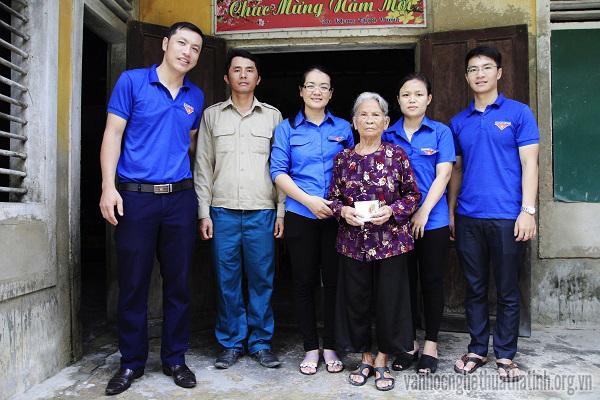 Tuổi trẻ Hà Tĩnh hướng về kỉ niệm 70 năm Ngày thương binh, liệt sĩ