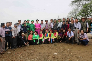 Thực tế sáng tác ở huyện Nghi Xuân