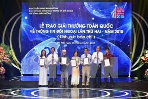 Giải toàn quốc Thông tin Đối ngoại 2016 mở rộng thêm loại hình dự thi