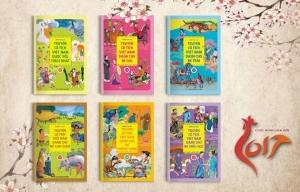 Sách thiếu nhi mừng năm mới của NXB Kim Đồng