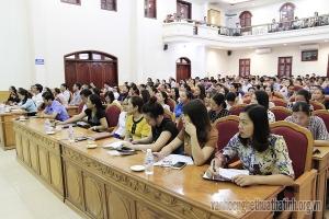 Hội nghị học tập, quán triệt nghị quyết trung ương V ( khóa XII)
