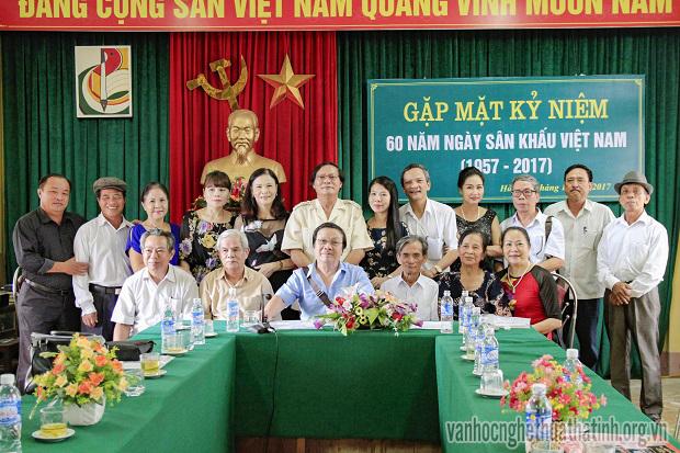 Gặp mặt kỉ niệm 60 năm ngày Sân khấu Việt Nam (1957 – 2017)