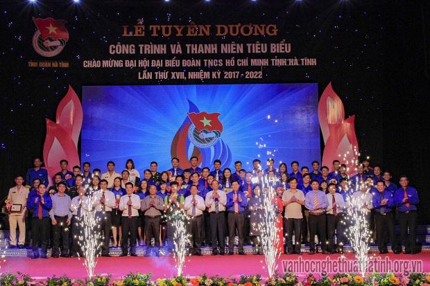 Lễ Tuyên dương Công trình và gương thanh niên tiêu biểu nhiệm kỳ 2017 – 2022