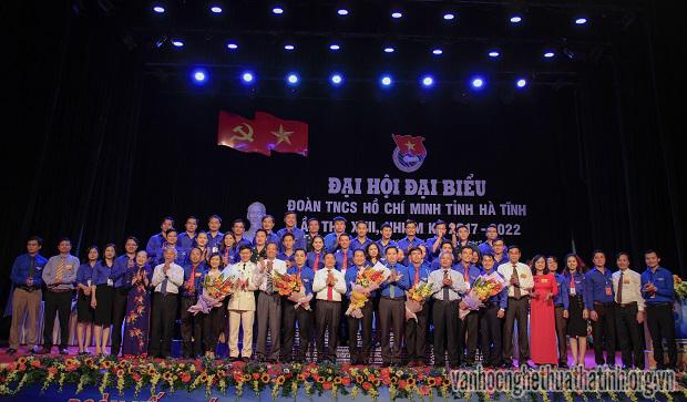 Đại hội Đại biểu Đoàn TNCS Hồ Chí Minh tỉnh Hà Tĩnh lần thứ XVI, nhiệm kỳ 2017 – 2022
