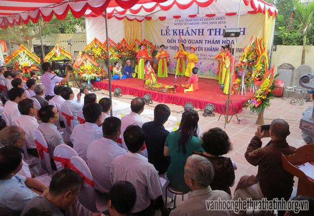 Lễ khánh thành Đền thờ Thám hoa Phan Kính tại Ninh Bình