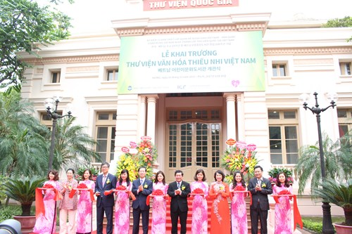 Khai trương thư viện thiếu nhi theo mô hình phức hợp đầu tiên tại Việt Nam