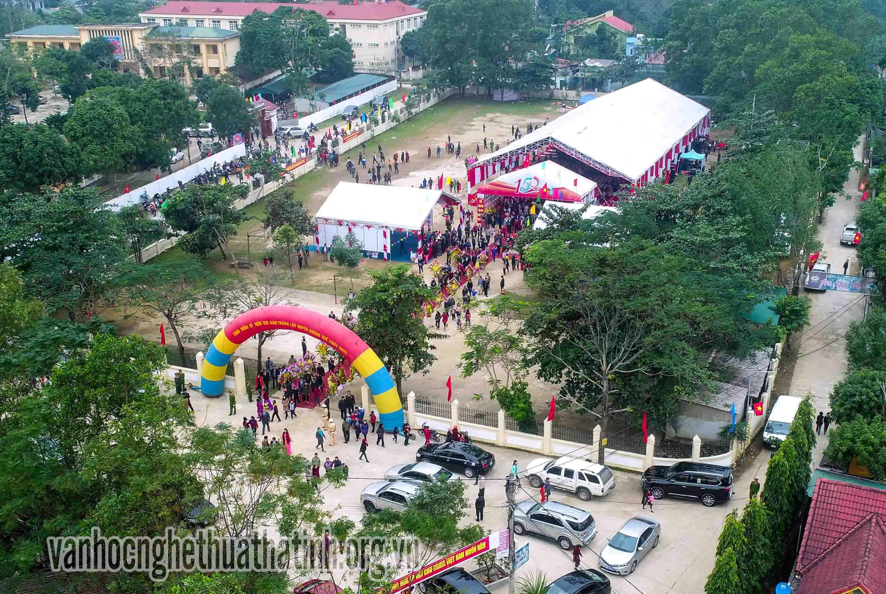Hương Khê long trọng kỷ niệm 150 năm thành lập huyện
