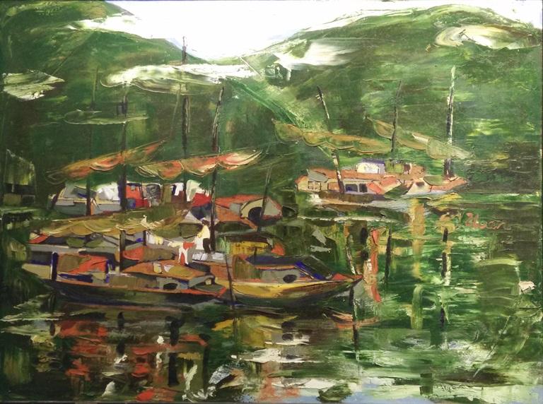 Vẻ đẹp thiên nhiên, đất nước, con người Việt qua nét cọ các họa sĩ Hà Nội