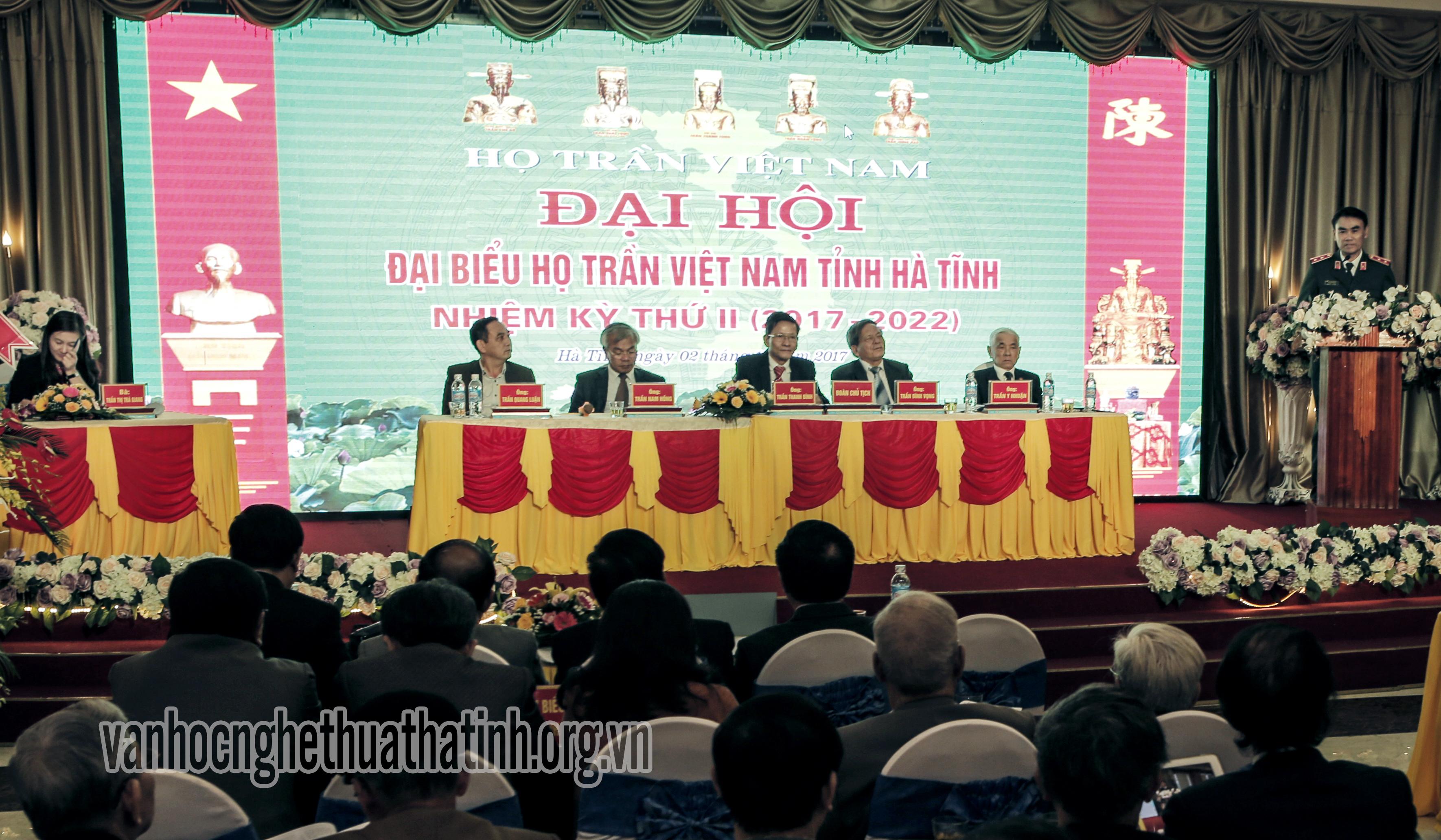Đại hội đại biểu họ Trần tỉnh Hà Tĩnh (2017- 2022)