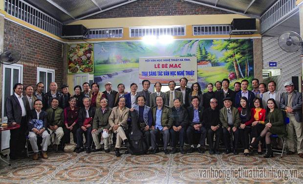 Bế mạc trại sáng tác VHNT năm 2017 tại Nghi Xuân