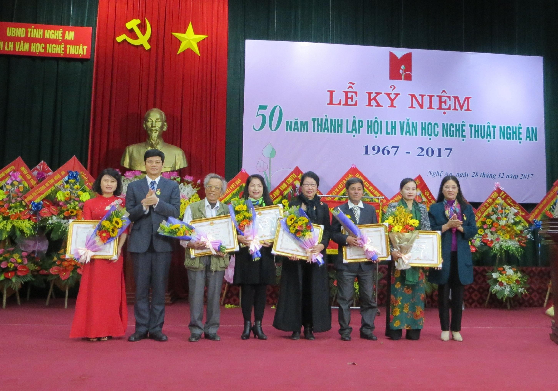 Hội Văn nghệ Nghệ An kỷ niệm 50 năm ngày thành lập ( 1967- 2017)