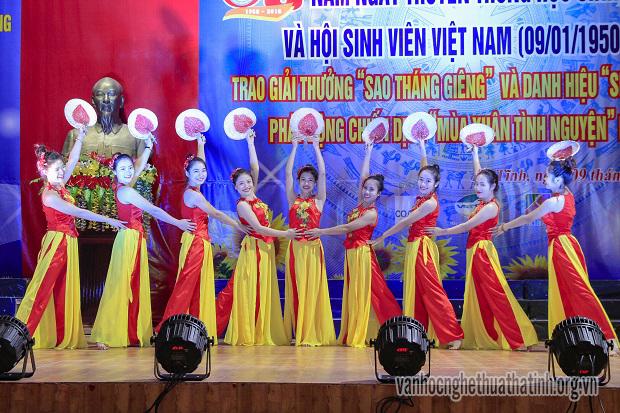 Lễ kỷ niệm 68 năm ngày truyền thống HSSV và hội sinh viên Việt Nam (09/1/1950 – 09/1/2018)
