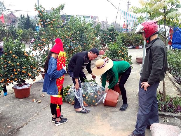 Tết về với người dân phố núi Hương Sơn