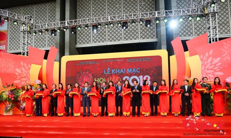 Khai mạc Hội Báo toàn quốc năm 2018