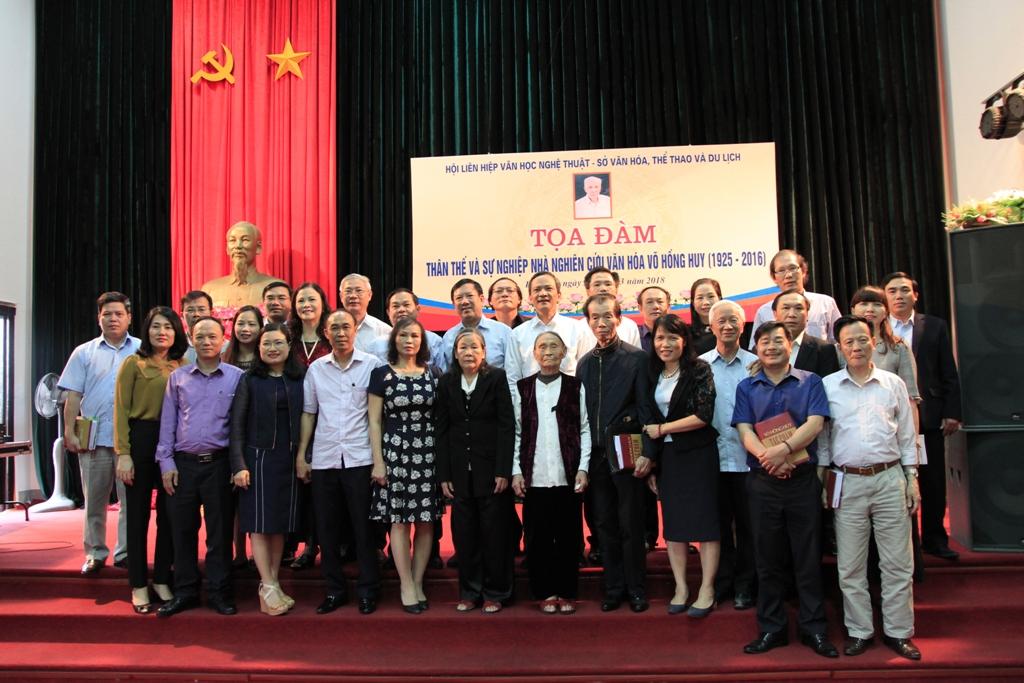 Tọa đàm về thân thế và sự nghiệp Nhà nghiên cứu văn hóa Võ Hồng Huy