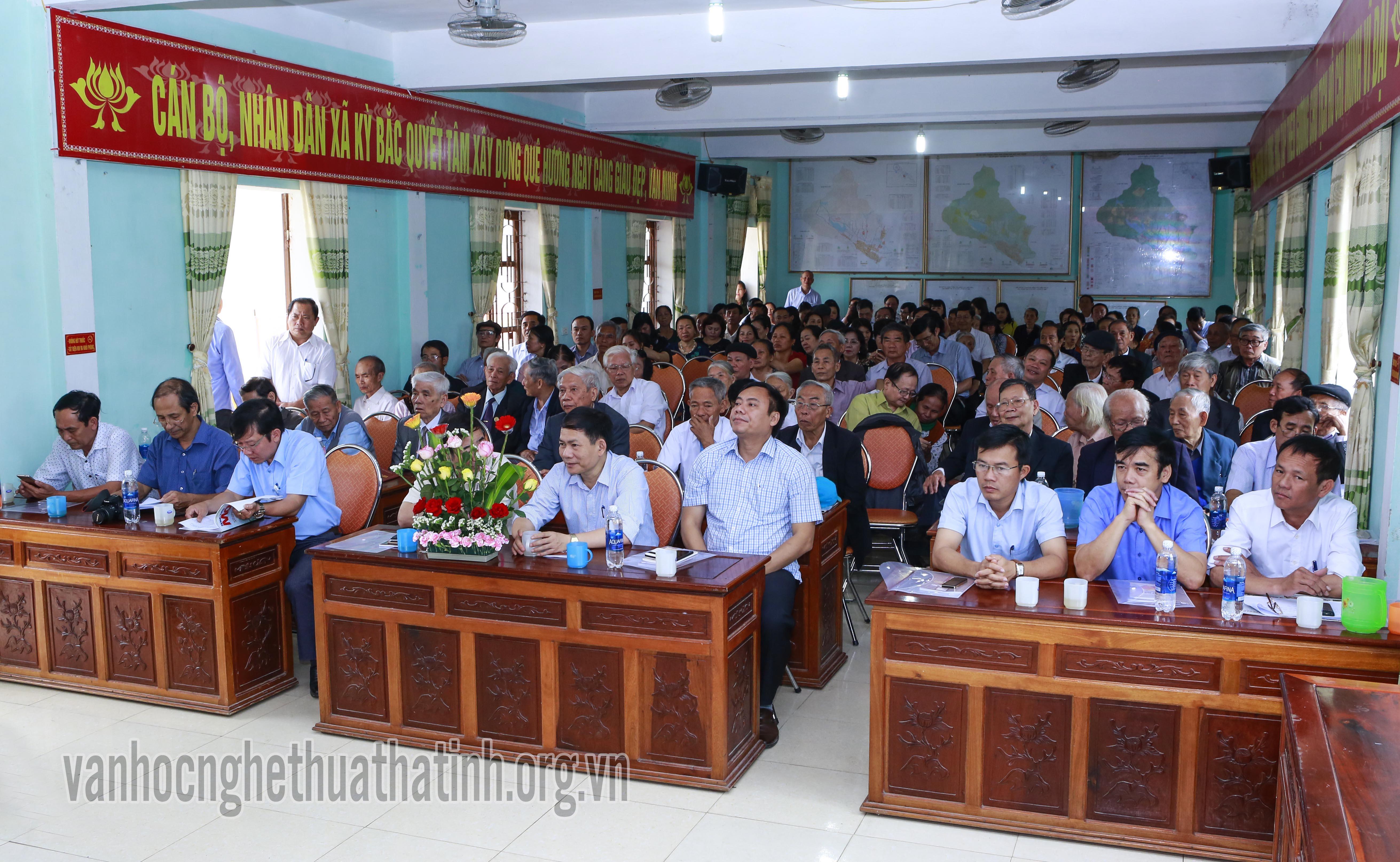 Lể Kỷ niệm 160 năm nhà thờ họ Nguyễn Tiến và 144 năm khởi nghĩa Giáp Tuất