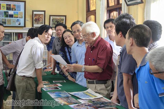 Tích cực chuẩn bị cho Triển lãm Mỹ thuật khu vực Bắc Miền Trung lần 23 tại Hà Tĩnh