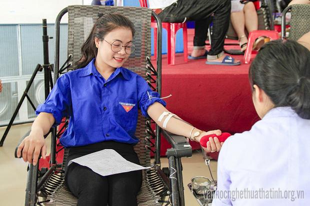 Ngày hội hiến máu tình nguyện đợt I năm 2018 tại Hà Tĩnh