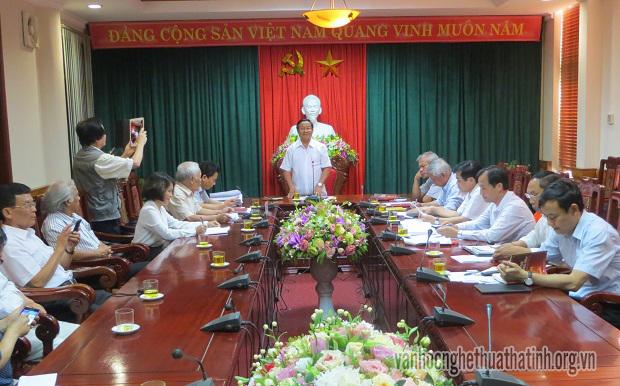 Thường trực Tỉnh ủy làm việc với Hội Kiều học Việt Nam