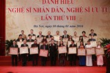 Bộ VHTT&DL lấy ý kiến nhân dân trước khi xét danh hiệu NSND, NSƯT