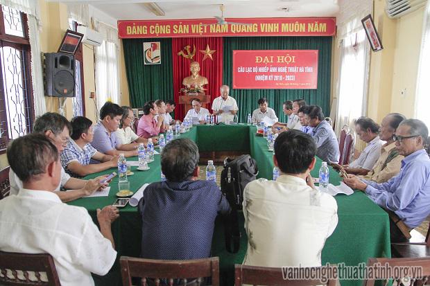 Đại hội Câu lạc bộ Nhiếp ảnh nghệ thuật Hà Tĩnh ( nhiệm kỳ 2018 – 2023)