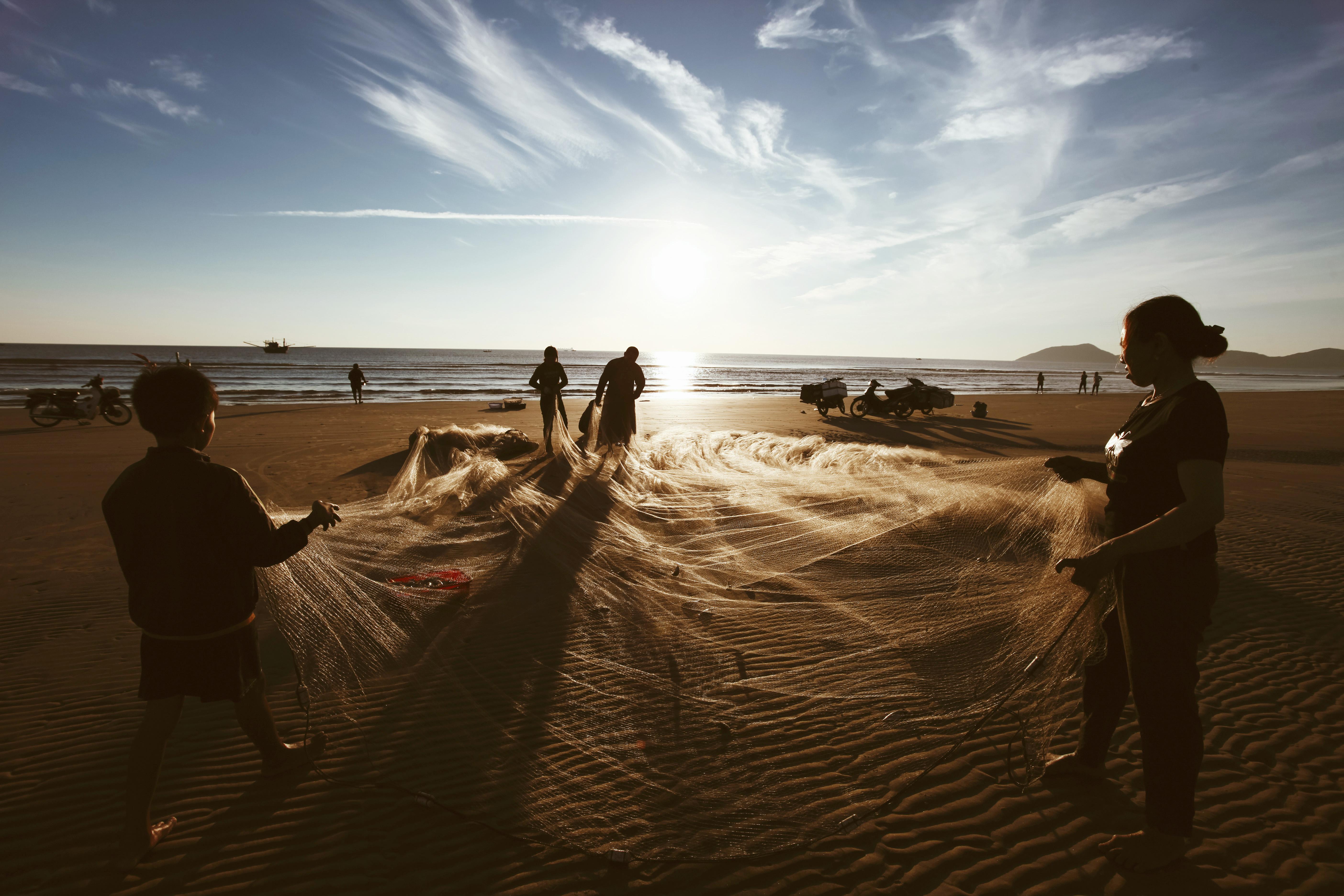 Bình minh huyền ảo trên biển Kỳ Ninh