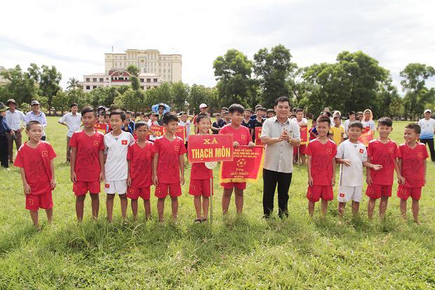 Chung kết giải Bóng đá thiếu niên nhi đồng Thành phố Hà Tĩnh