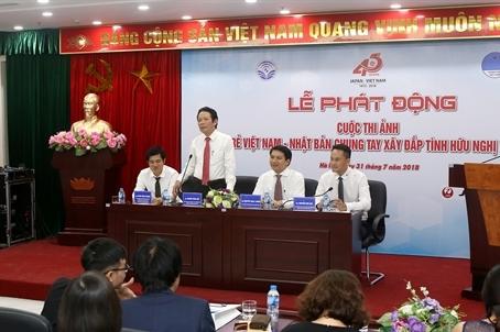Thi ảnh Chung tay xây đắp tình hữu nghị Việt-Nhật