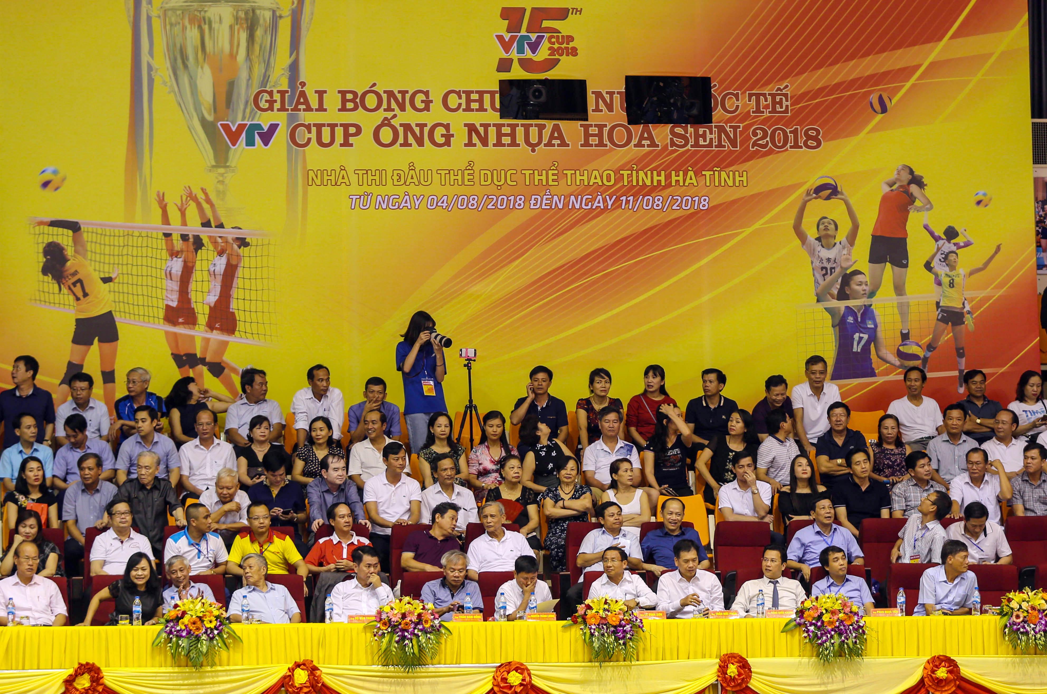 Khai mạc Giải bóng chuyền nữ quốc tế VTV Cup năm 2018 tại Hà Tĩnh