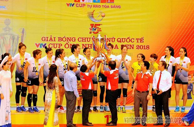 Những khoảnh khắc ấn tượng của giải bóng chuyền nữ Quốc tế VTV Cup Ống nhựa Hoa Sen 2018