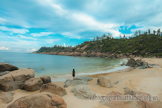 Vẻ đẹp hoang sơ của biển Kỳ Phú – huyện Kỳ Anh