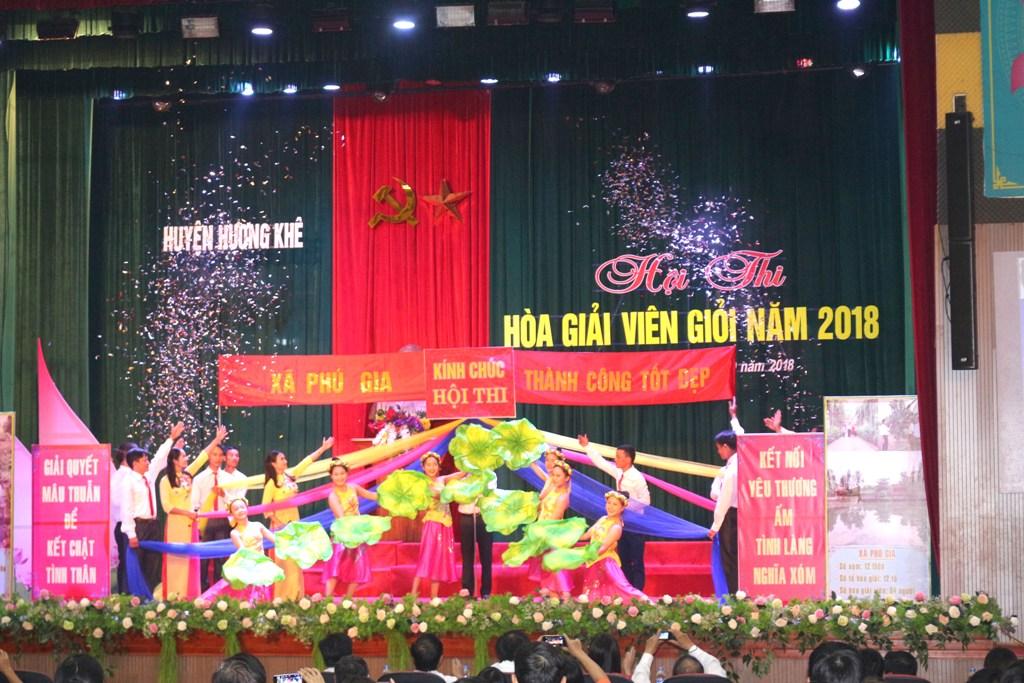Hương Khê: Những sắc màu của Hội thi Hòa giải viên cơ sở giỏi năm 2018
