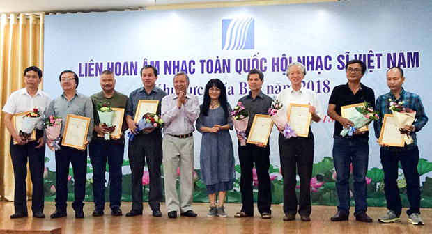 Âm nhạc Hà Tĩnh giành giải B tại Liên hoan âm nhạc toàn quốc 2018 khu vực phía Bắc