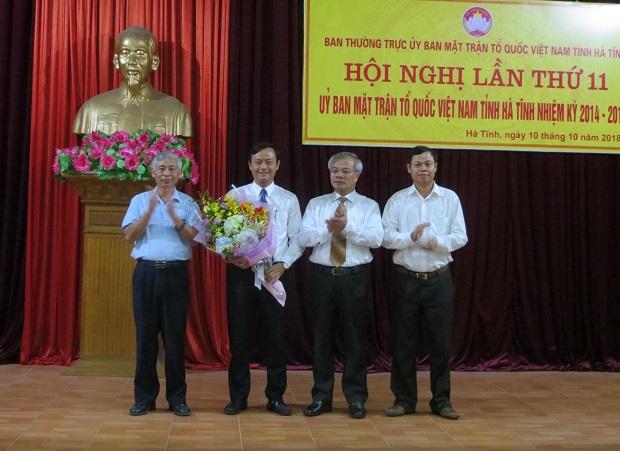 Hiệp thương bầu Chủ tịch Uỷ ban MTTQ Việt Nam tỉnh Hà Tĩnh