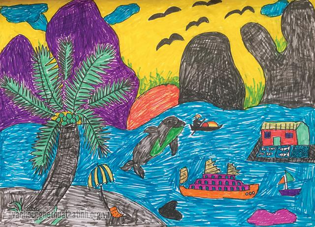 Chùm tác phẩm tham dự cuộc thi viết - vẽ tuổi học trò lần thứ XII