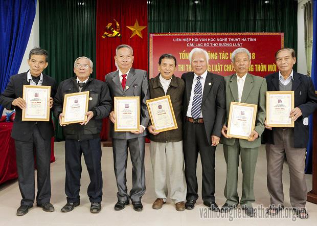 Kết quả cuộc thi thơ Đường luật về chủ đề xây dựng nông thôn mới Hà Tĩnh