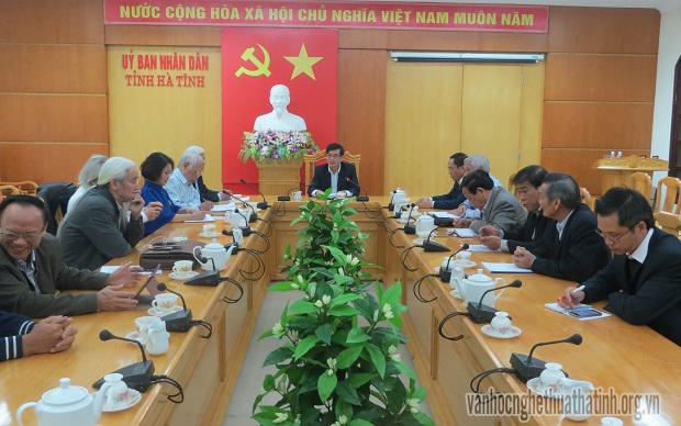 Khởi động kế hoạch cho Đại lễ tưởng niệm 200 năm ngày mất Đại thi hào Nguyễn Du tại Hà Tĩnh