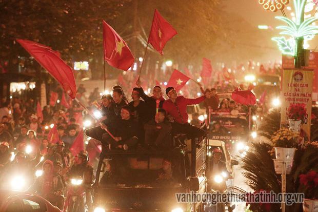 Hà Tĩnh hòa chung chiến thắng của đội tuyển Việt Nam
