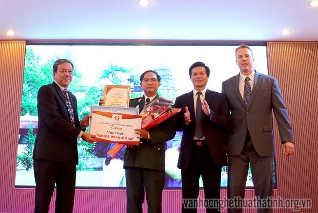 Tác giả Hà Tĩnh đạt giải Nhất cuộc thi Ảnh đẹp Du lịch Thừa Thiên Huế 2018