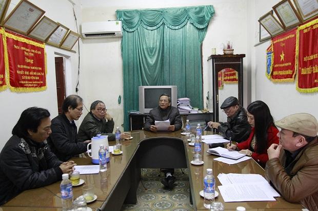 Họp bàn kế hoạch tổ chức Ngày thơ Việt Nam lần thứ XVII