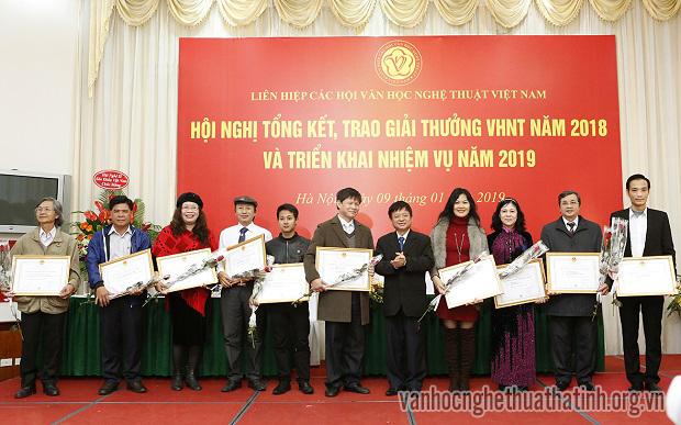 Tổng kết hoạt động và trao tặng Giải thưởng Văn học Nghệ thuật toàn quốc năm 2018