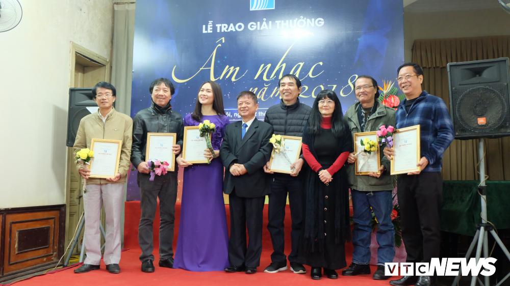 Âm nhạc Hà Tĩnh đạt 02 giải trong đợt trao giải thưởng âm nhạc của Hội Nhạc sĩ Việt Nam năm 2018
