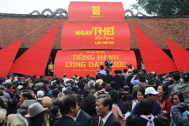 Hơn 150 đại biểu quốc tế tham dự Ngày thơ Việt Nam lần thứ XVII - 2019