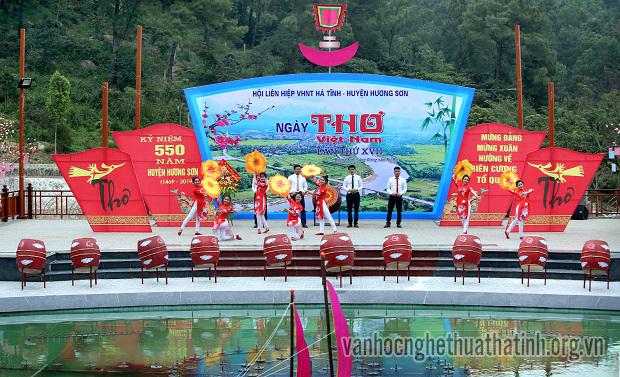 Hà Tĩnh tổ chức Ngày thơ Việt Nam lần thứ VXII tại Hương Sơn