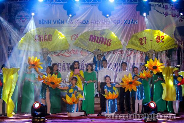 Giao lưu văn nghệ chào mừng kỷ niệm Ngày thầy thuốc Việt Nam