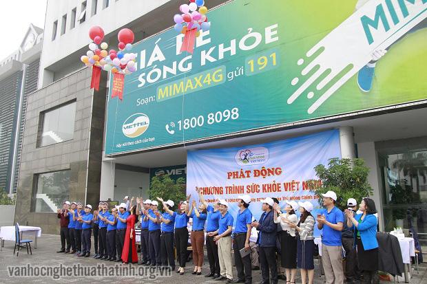 Hà Tĩnh phát động chương trình Sức khỏe Việt Nam