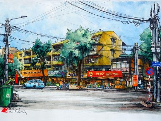 Cuộc thi Ký ức Hà Nội từ những khu nhà cũ